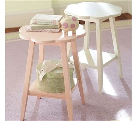 Pink Accent Table Pink Flower Side Table From Pottery Barn 69 00 Stuff And Nonsense That I Want To Buy