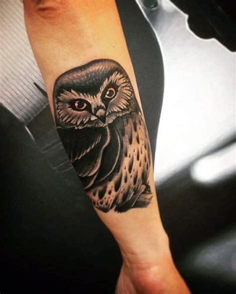 owl forearm tattoo 20 owl ideas to get inspired styleoholic