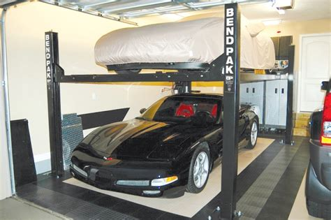 Car Garage Lift by Home Garage Lifts With Bendpak Rod Authority
