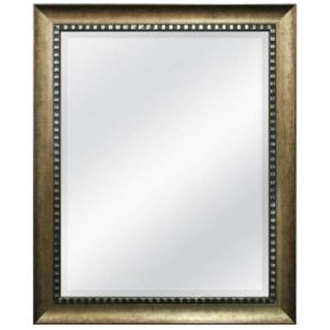 mcs 34 in x 28 in williston framed mirror 73862 the