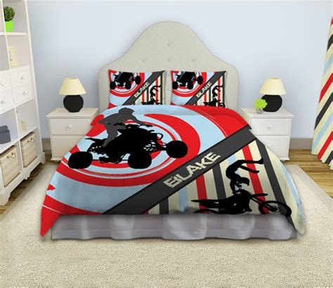 Motocross Bedding Sets Motocross Duvet Cover Atv Bedding Rooms Motocross