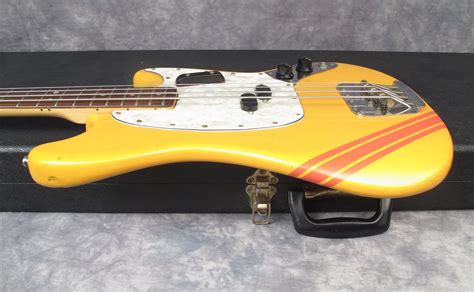 fender mustang neck for sale fender mustang 1971 competition orange bass for sale andy