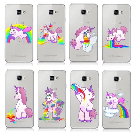 Silicone Pony Unicorn Rainbow Samsung A5 2016 A510 J510 compare prices on hippo pattern shopping buy low