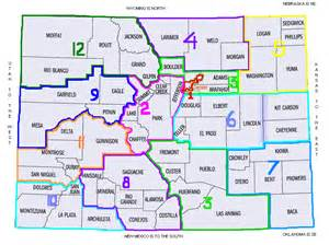colorado map with county lines sstabs district map directors