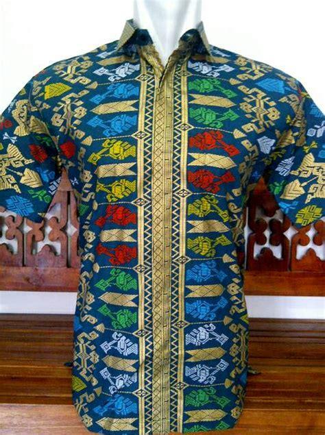 Hem Batik Prada Kantoran 3 jual hem motif songket bali prada ix kemeja prada bali