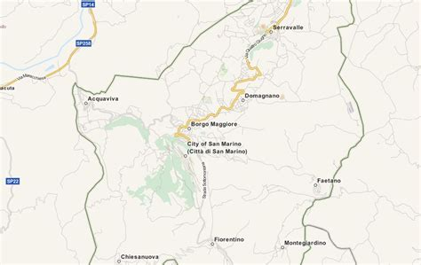 san marino country map san marino map software for your gps