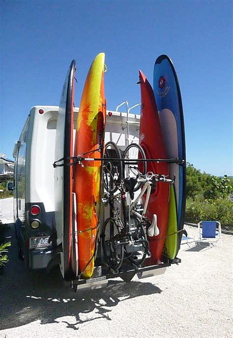 Travel Trailer Kayak Rack by 25 Best Ideas About Rv Accessories On Trailer Organization Travel Trailers And
