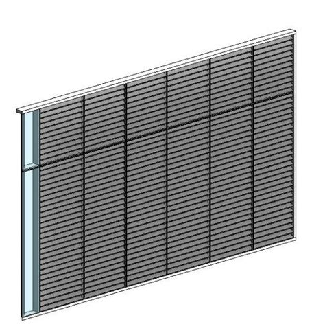 curtain wall louvers curtain wall louver panel modlar com