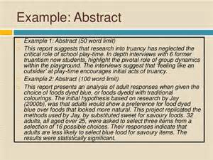 How To Write Abstract For Paper Presentation Report Writing For Academic Purposes