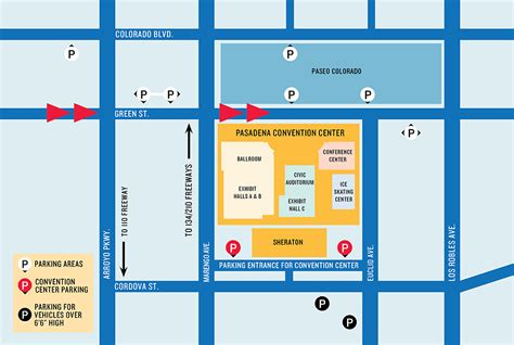 colorado convention center map show info curiocon