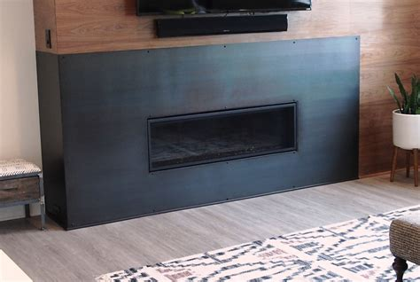 Metal Surround For Fireplace by
