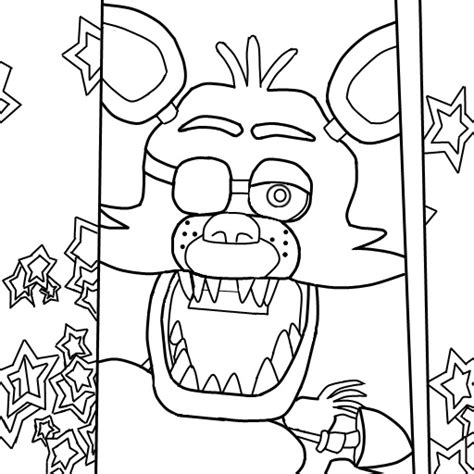 f naf 2 coloring pages chica toy 15 images of old freddy old chica old bonnie coloring