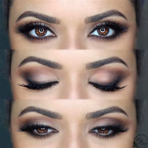 Wedding Makeup Hair Brown by How To Rock Makeup For Brown Makeup Ideas