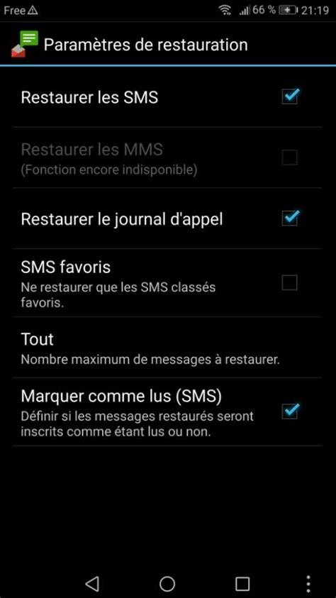 SMS Backup +, pour sauvegarder tous vos SMS sous Android