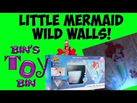 wild walls little mermaid light sound room decor only disney little mermaid wild walls light n sound wallscape