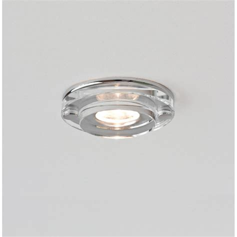 Recessed Led Bathroom Lighting Astro Lighting Mint Single Light Led Clear Glass Bathroom Recessed Downlight Astro Lighting