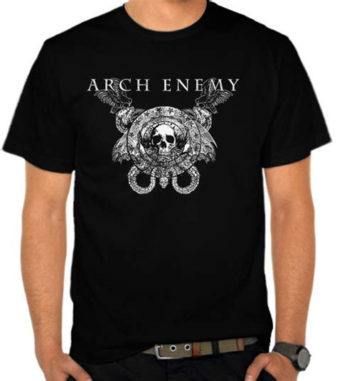 jual kaos arch enemy logo 2 arch enemy satubaju