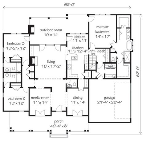 southern living floor plans orange grove southern living house plans my favorite