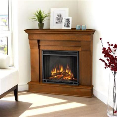 Corner Electric Fireplaces Home Depot by Real Chateau 41 In Corner Electric Fireplace In