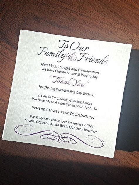Places That Donate Gift Cards - best 25 donation wedding favors ideas on pinterest wedding favours diy cheap