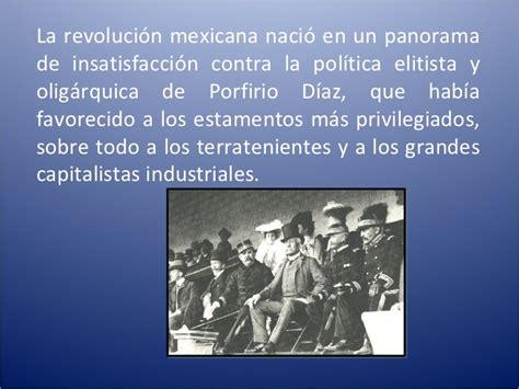 una revolucion en la resumen revolucion mexicana