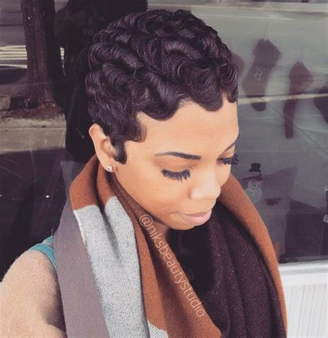 fingerwaves freeze updo for an black american female 13 easy finger waves hair styles you will want to copy