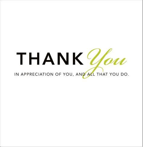 Brief Words Of Appreciation Thank You Quotes Appreciation Messages Thank You Cards
