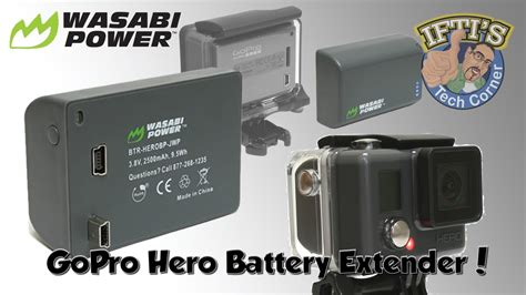 Wasabi Gopro wasabi power extended battery for budget gopro review