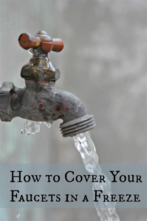 Outdoor Faucet Winter Cover by How To Wrap Your Faucets To Keep Them From Freezing