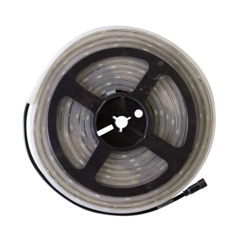 commercial electric led tape light connectors commercial electric 12 ft indoor led warm white tape