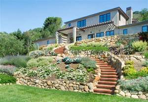house landscape house on the hill mediterranean landscape santa barbara by calvin design