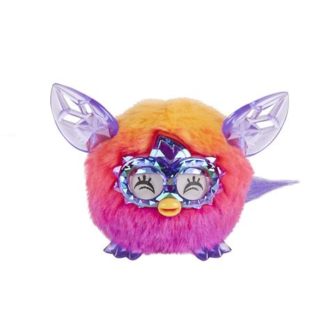 Furby Boom Orange Plush furby furblings creature plush orange pink