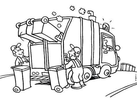 coloring pages for garbage trucks garbage drawing at getdrawings com free for personal use