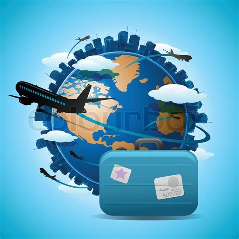 Home Design 3d Import Plan flugzeug reisen rund um den globus reisen konzept