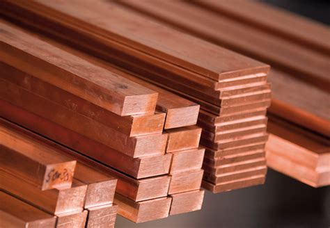 Copper Bar Copper Square Bars Bikar Metalle