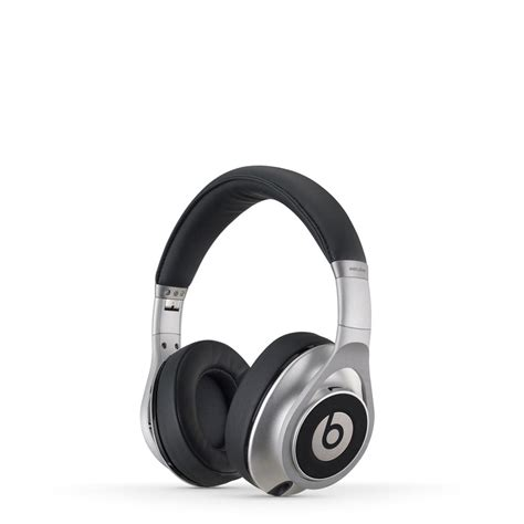 Headphone Beats By Dr Dre Asli Beats By Dr Dre Executive Headphones Silver Iwoot