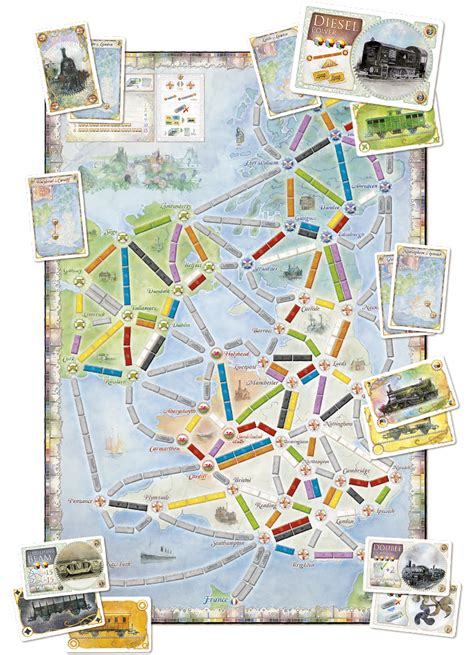 Ticket To Ride Map Collection Volume 2 India Switzerland ticket to ride map collection volume 5 united kingdom pennsylvania surplus