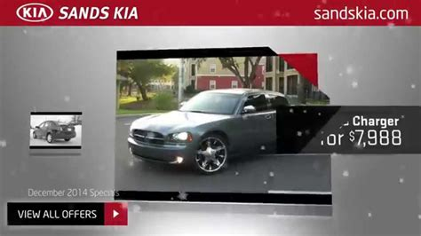 Sands Kia by Sands Kia Pre Owned Specials December 2014