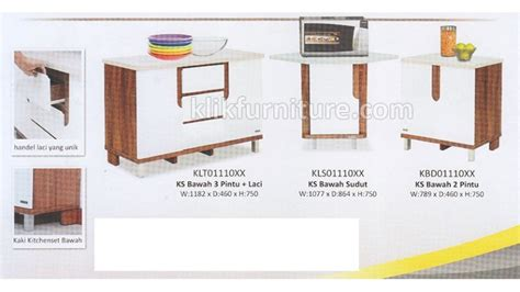 Lemari Cabinet Olympic Kitchen Set Olympic