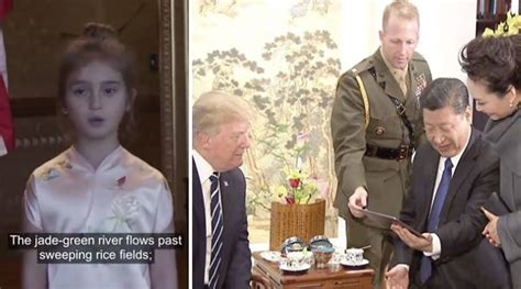 donald trump granddaughter chinese video trump s granddaughter impresses chinese president