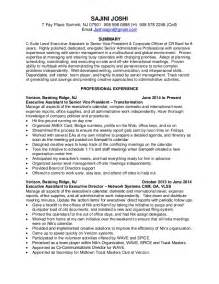 Executive Associate Sle Resume by C Suite Executive Assistant Resume November 2015