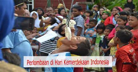 indonesia di hari perlombaan di hari kemerdekaan indonesia