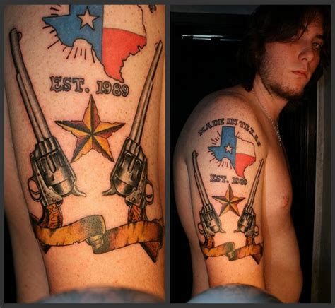 texas sleeve tattoo images designs