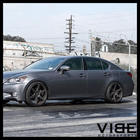 lexus is 250 stance 19 quot stance sc6 grey concave wheels rims fits lexus is250