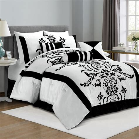 Bed Bigland Flora White black and white bedding ease bedding with style