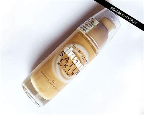 Bedak Maybelline Satin Skin maybelline satin skin air liquid foundation review theindianspot