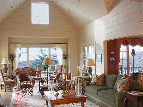 interior design comfortable cozy on lake toxaway nc