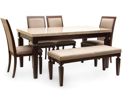 Dining Table Design India Bliss Marble Top Six Seater Dining Table By Hometown Bliss Marble Top Six Seater Dining Table By