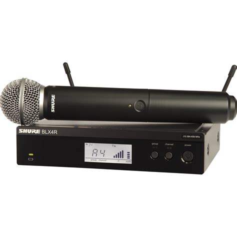 Mic Shure Glxd 24 shure blx24r vocal wireless system with sm58 mic blx24r sm58 h10
