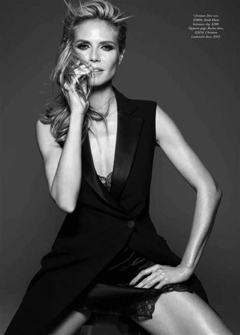 In Harpers Bazaar June 07 by Heidi Klum Covers S Bazaar Australia June July 2016